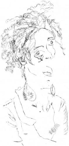 Portrait de Beliza à l'aveugle